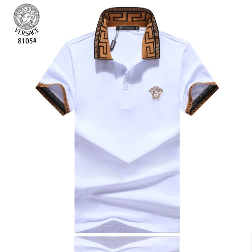 Versace T-Shirts Short Sleeved Polo For Men #781854