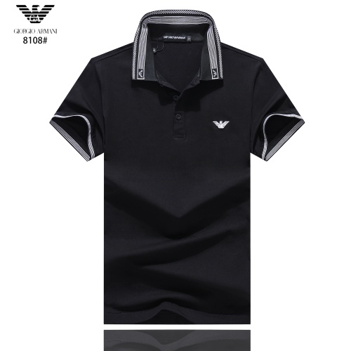 Armani T-Shirts Short Sleeved Polo For Men #781864