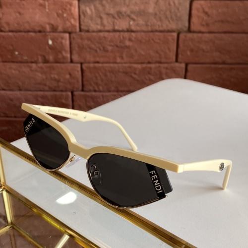 Fendi AAA Quality Sunglasses #781984