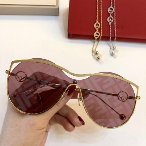 Fendi AAA Quality Sunglasses #781992