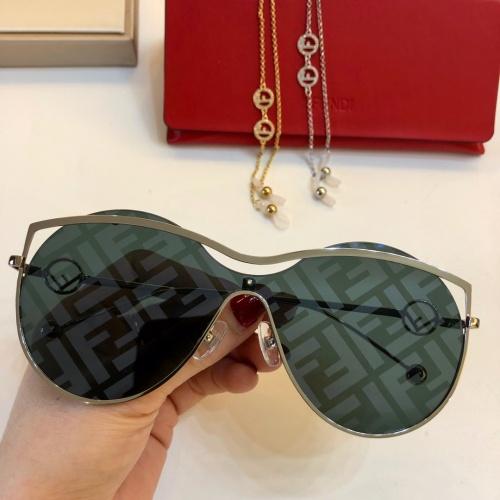 Fendi AAA Quality Sunglasses #781996