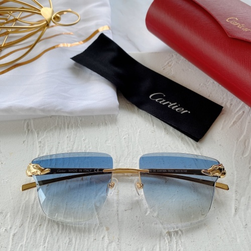 Cartier AAA Quality Sunglasses #782046