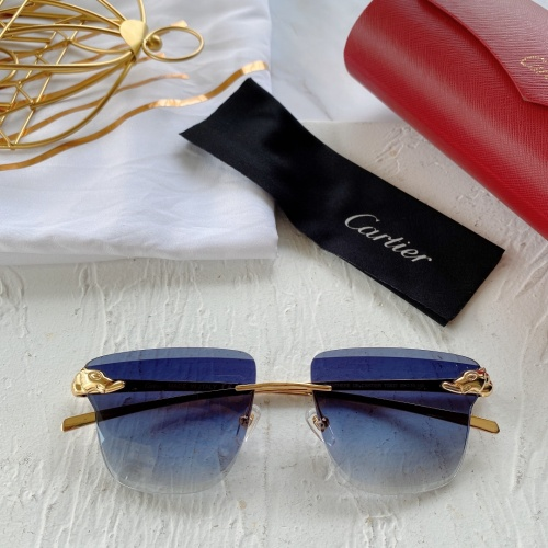 Cartier AAA Quality Sunglasses #782048