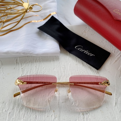 Cartier AAA Quality Sunglasses #782051