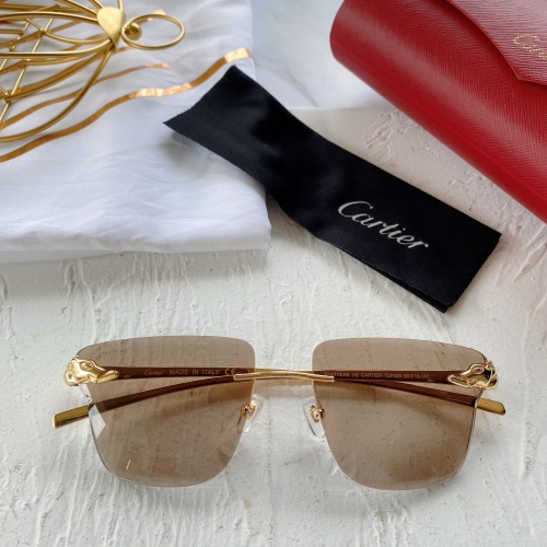 Cartier AAA Quality Sunglasses #782052