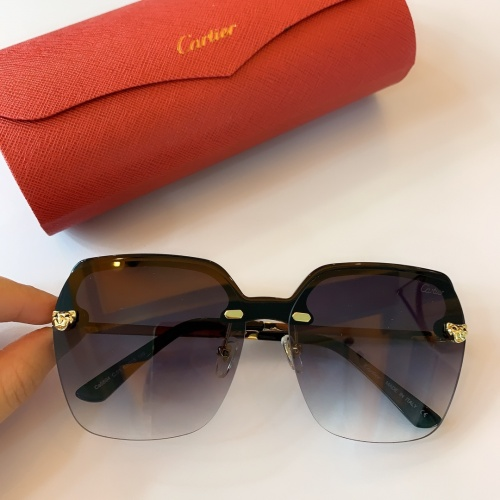 Cartier AAA Quality Sunglasses #782055