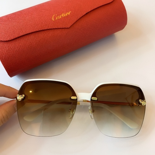 Cartier AAA Quality Sunglasses #782060