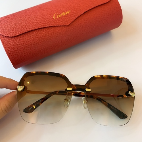 Cartier AAA Quality Sunglasses #782062