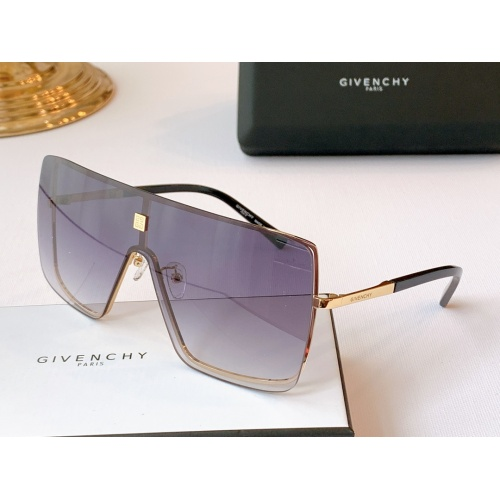 Givenchy AAA Quality Sunglasses #782174 $59.17 USD, Wholesale Replica Givenchy AAA Sunglasses