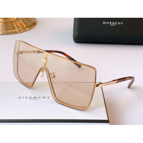 Givenchy AAA Quality Sunglasses #782177 $59.17 USD, Wholesale Replica Givenchy AAA Sunglasses
