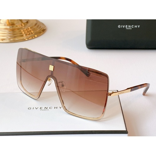 Givenchy AAA Quality Sunglasses #782178 $59.17 USD, Wholesale Replica Givenchy AAA Sunglasses