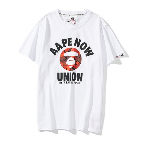 Aape T-Shirts Short Sleeved O-Neck For Men #782746 $24.25, Wholesale Replica Aape T-Shirts