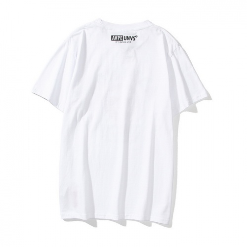 Replica Aape T-Shirts Short Sleeved O-Neck For Men #782746 $24.25 USD for Wholesale