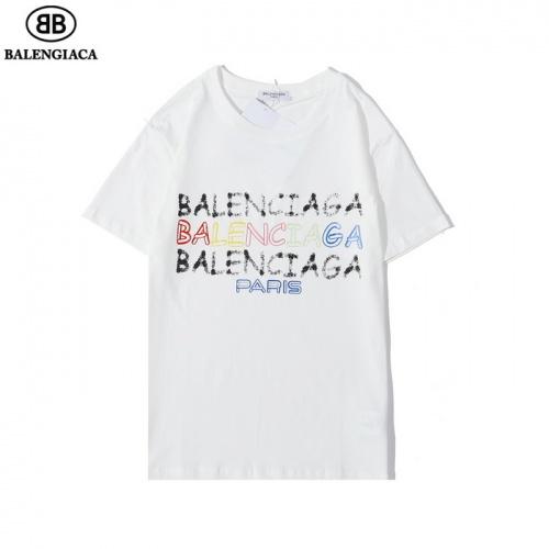 Balenciaga T-Shirts Short Sleeved O-Neck For Men #782775