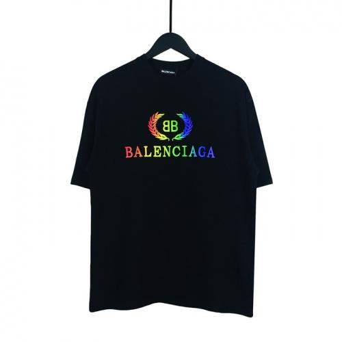 Balenciaga T-Shirts Short Sleeved O-Neck For Men #782809