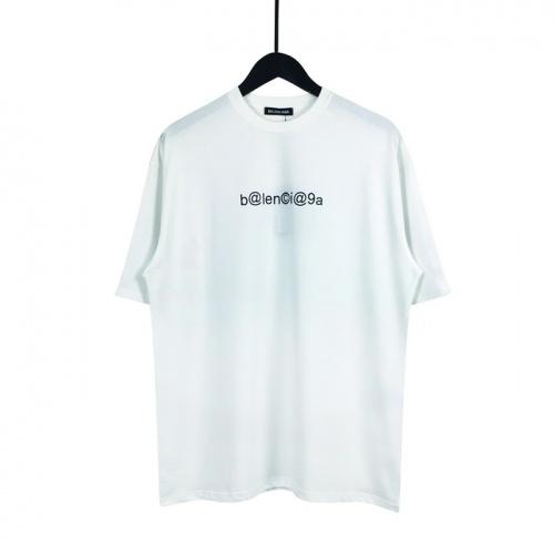 Balenciaga T-Shirts Short Sleeved O-Neck For Men #782814