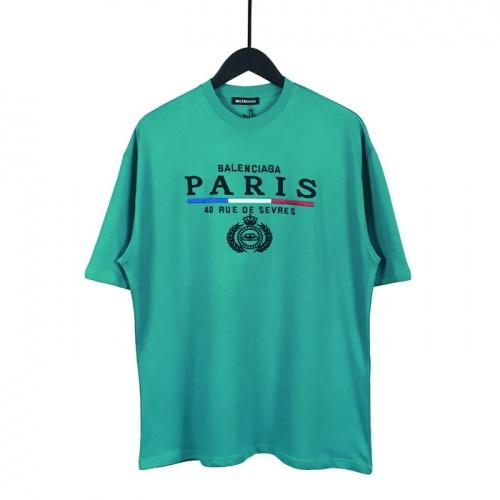 Balenciaga T-Shirts Short Sleeved O-Neck For Men #782822