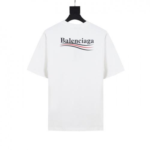 Balenciaga T-Shirts Short Sleeved O-Neck For Men #782835