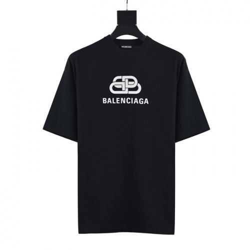 Balenciaga T-Shirts Short Sleeved O-Neck For Men #782843