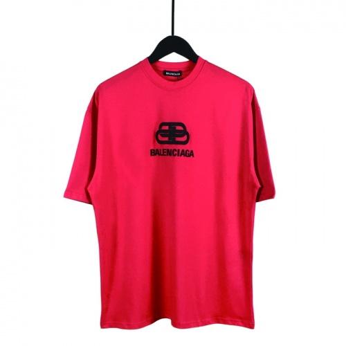 Balenciaga T-Shirts Short Sleeved O-Neck For Men #782846