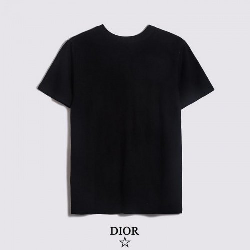 Replica Christian Dior T-Shirts Short Sleeved O-Neck For Men #782891 $26.19 USD for Wholesale