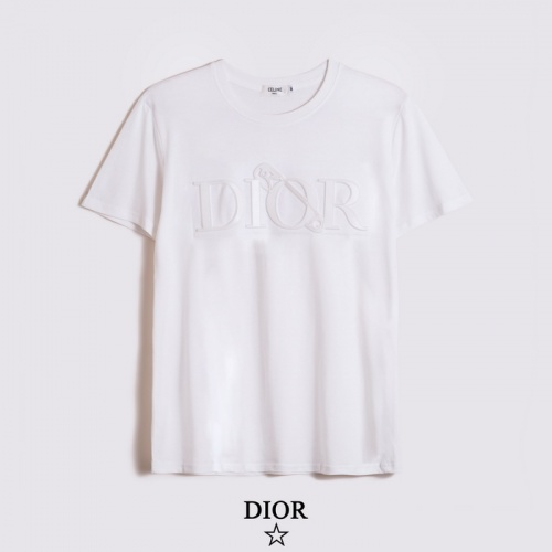 Christian Dior T-Shirts Short Sleeved O-Neck For Men #782892
