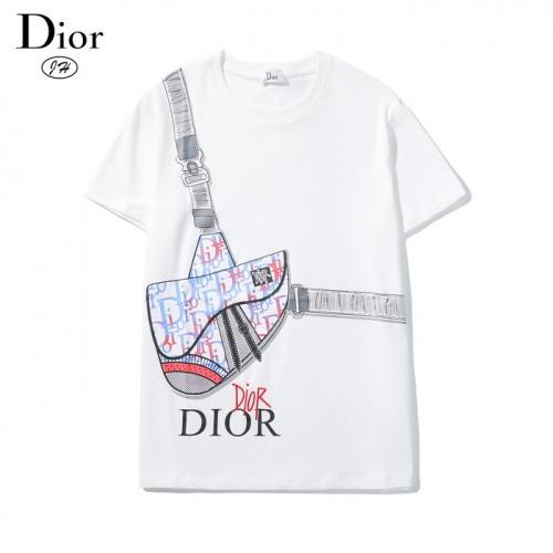 Christian Dior T-Shirts Short Sleeved O-Neck For Men #782906