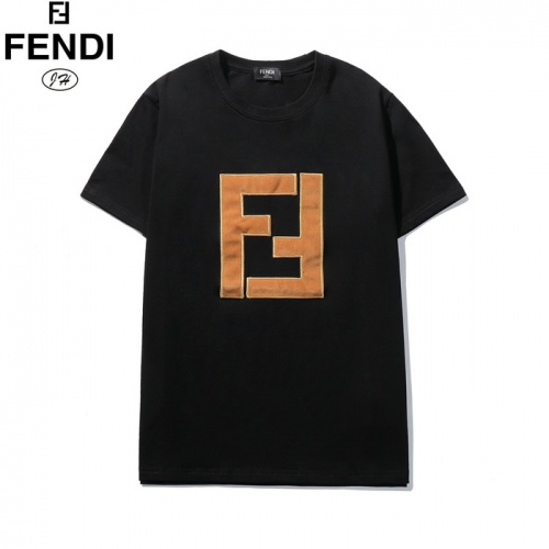 Fendi T-Shirts Short Sleeved O-Neck For Men #782925 $26.19, Wholesale Replica Fendi T-Shirts