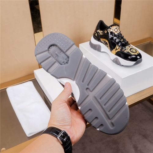 Replica Versace Casual Shoes For Men #783124 $73.72 USD for Wholesale