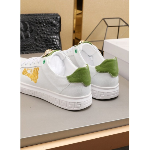 Replica Versace Casual Shoes For Men #783153 $73.72 USD for Wholesale