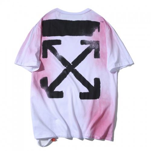 Off-White T-Shirts Short Sleeved O-Neck For Men #783285