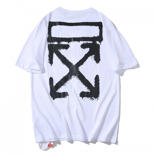 Off-White T-Shirts Short Sleeved O-Neck For Men #783286