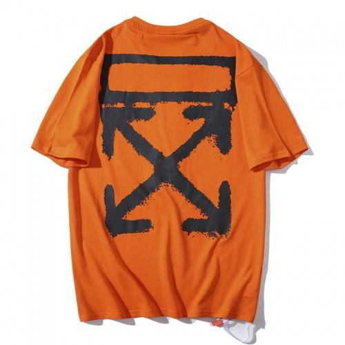 Off-White T-Shirts Short Sleeved O-Neck For Men #783288