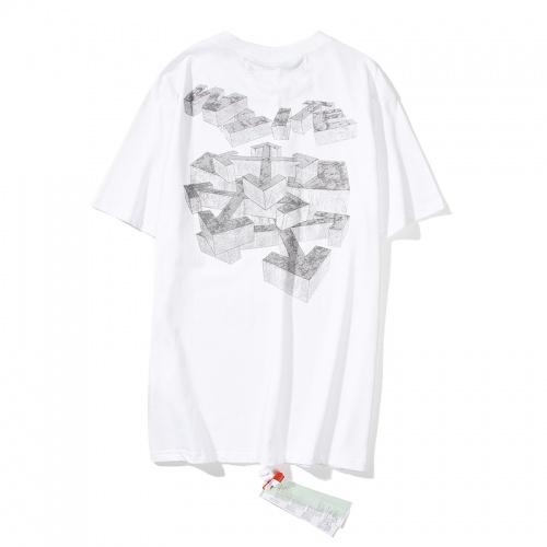 Off-White T-Shirts Short Sleeved O-Neck For Men #783292