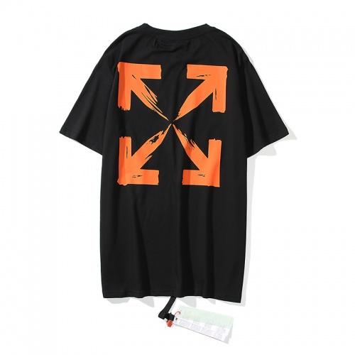 Off-White T-Shirts Short Sleeved O-Neck For Men #783307