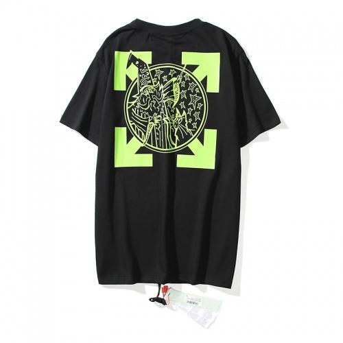 Off-White T-Shirts Short Sleeved O-Neck For Men #783311