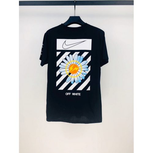 Off-White T-Shirts Short Sleeved O-Neck For Men #783353