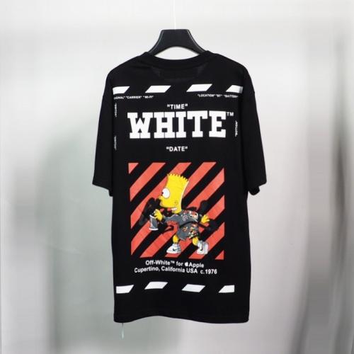 Off-White T-Shirts Short Sleeved O-Neck For Men #783389