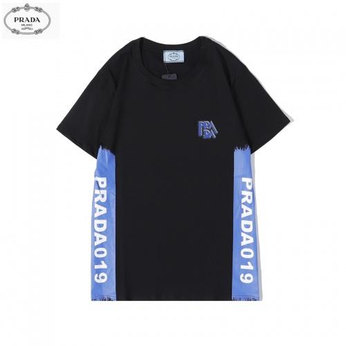 Prada T-Shirts Short Sleeved O-Neck For Men #783472