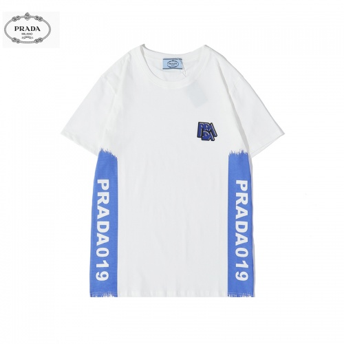 Prada T-Shirts Short Sleeved O-Neck For Men #783473
