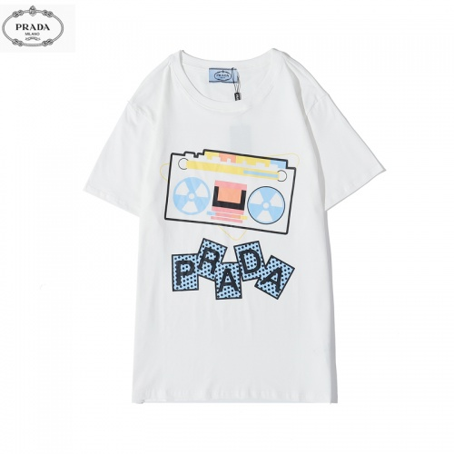 Prada T-Shirts Short Sleeved O-Neck For Men #783475