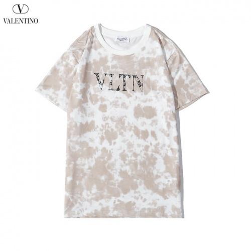 Valentino T-Shirts Short Sleeved O-Neck For Men #783499 $26.19, Wholesale Replica Valentino T-Shirts