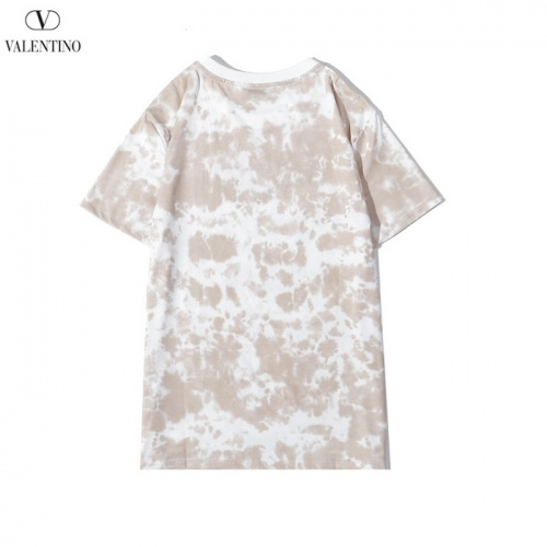 Replica Valentino T-Shirts Short Sleeved O-Neck For Men #783499 $26.19 USD for Wholesale