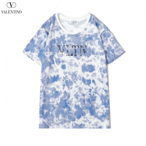 Valentino T-Shirts Short Sleeved O-Neck For Men #783500 $26.19, Wholesale Replica Valentino T-Shirts