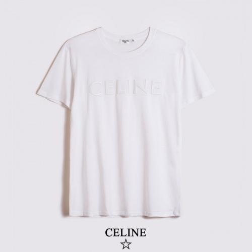Celine T-Shirts Short Sleeved O-Neck For Men #783508 $26.19, Wholesale Replica Celine T-Shirts