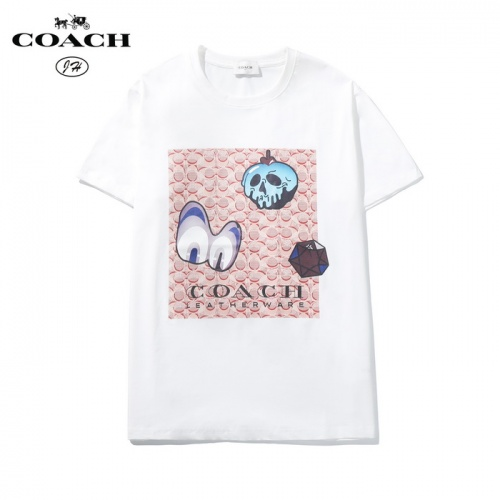 Coach T-Shirts Short Sleeved O-Neck For Men #783509