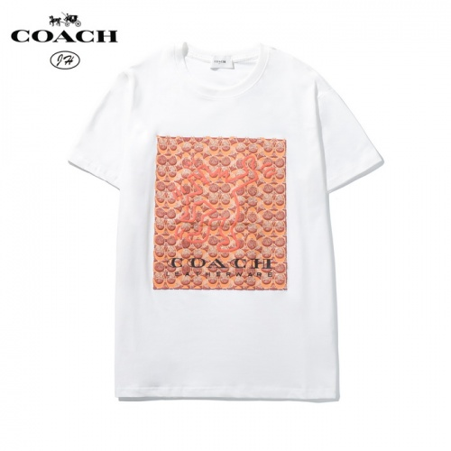 Coach T-Shirts Short Sleeved O-Neck For Men #783512