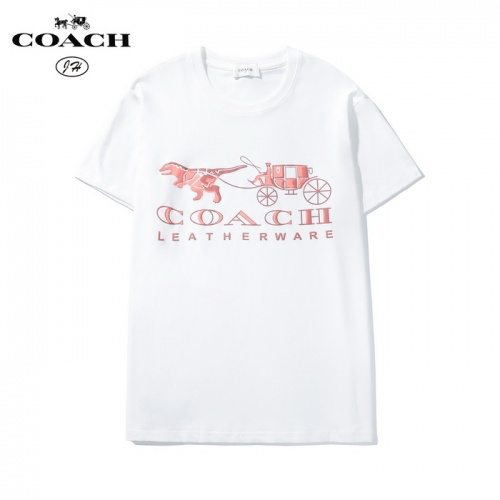 Coach T-Shirts Short Sleeved O-Neck For Men #783513