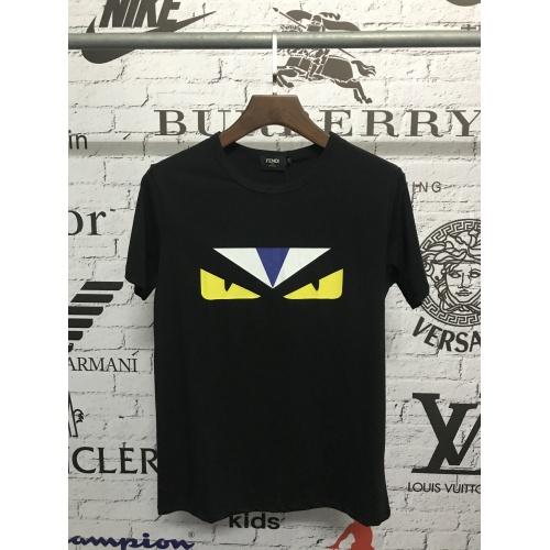 Fendi T-Shirts Short Sleeved O-Neck For Men #783537