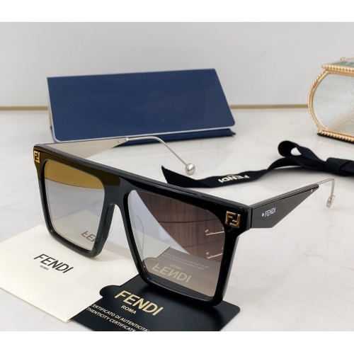 Fendi AAA Quality Sunglasses #783555